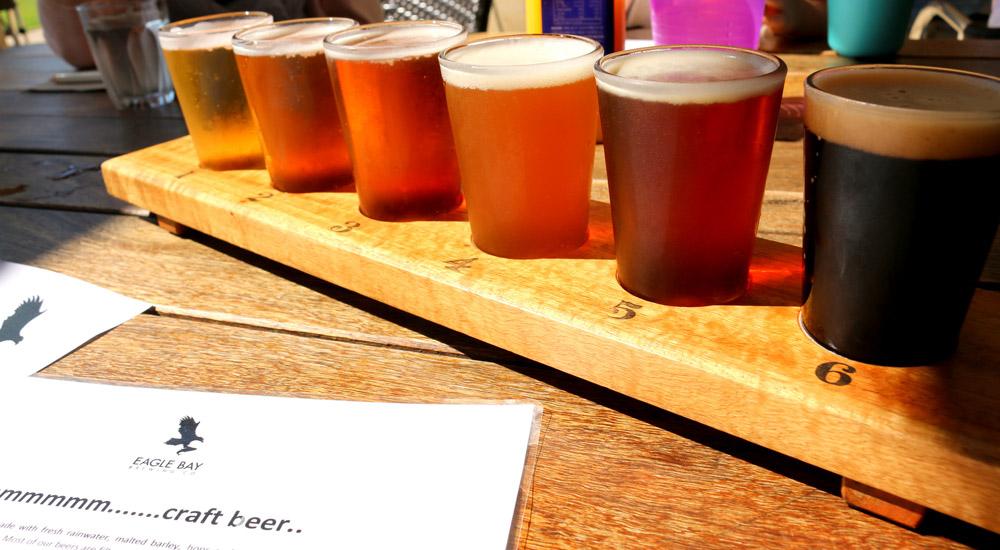 Craft beer tasting in Perth