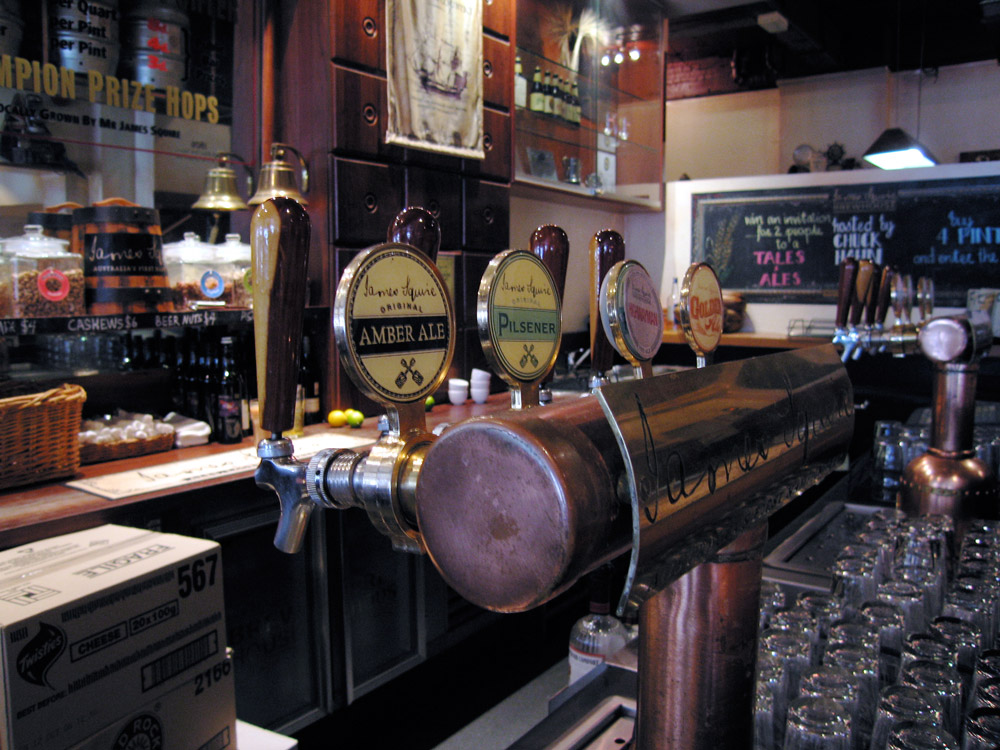 James Squire Brewhouse, Melbourne Australia