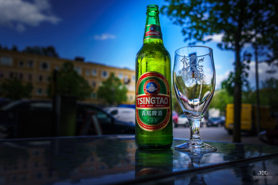 Chinese Tsingtao beer photo