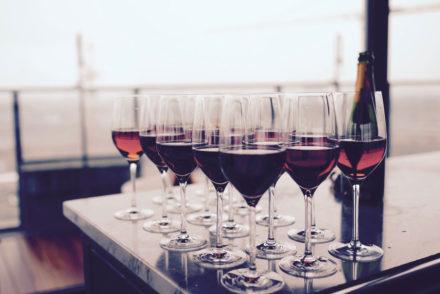 type of wine glasses