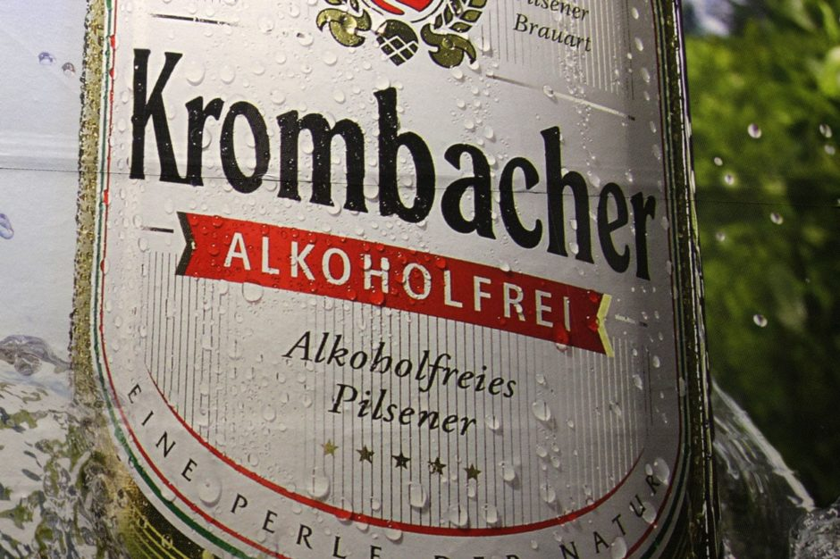 Krombacher alcohol free beer