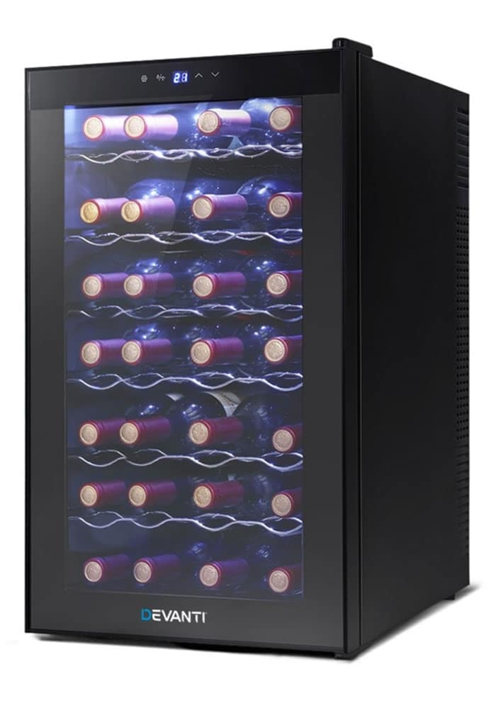 Devanti 28-Bottle Thermoelectric Wine Cooler