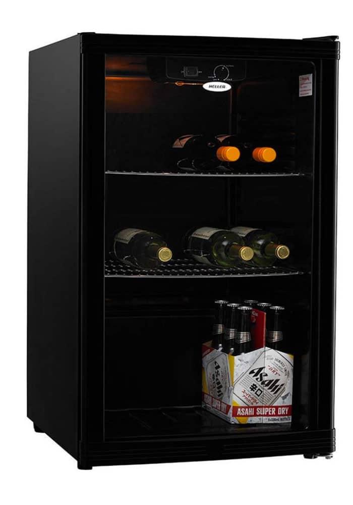 Heller HBC115B 115L Beverage Cooler